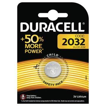 Duracell CR2032/DL2032 Button Cell Battery - 3V