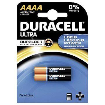 Duracell Ultra AAAA Paristo 041660 - 1.5V - 1x2