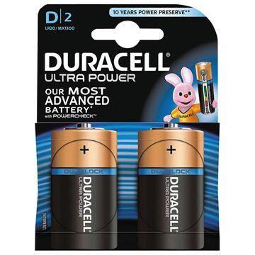 Duracell Ultra Power D/LR20 Paristo 002906 - 1.5V - 1x2