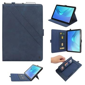 MTP Products Huawei MediaPad M5 10/M5 10 (Pro) Folio Case with Card Slot - Blue
