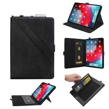 MTP Products iPad Pro 12.9 (2018) Folio Case with Card Slot - Black
