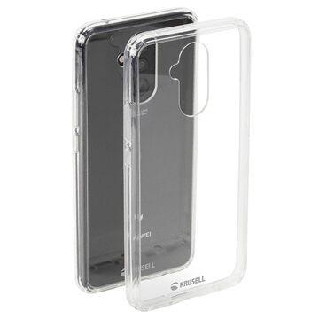 Krusell Kivik Huawei Mate 20 Lite Hybridikotelo - Läpinäkyvä