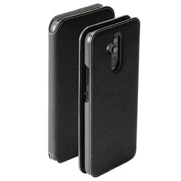 Krusell Pixbo Huawei Mate 20 Lite Lompakkokotelo - Musta