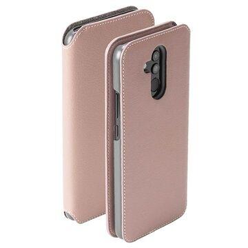 Krusell Pixbo Huawei Mate 20 Lite Lompakkokotelo - Pinkki