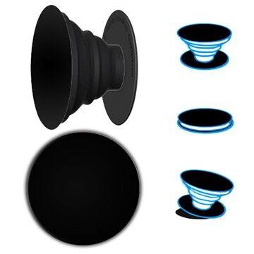 PopSockets Yleiskäyttöinen Universal Laajennusalusta & Kahva - Musta