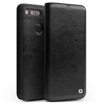 Qialino Classic Honor View 20 Flip Leather Case - Black