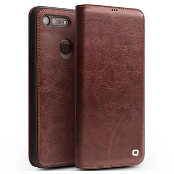 Qialino Classic Honor View 20 Flip Leather Case - Brown