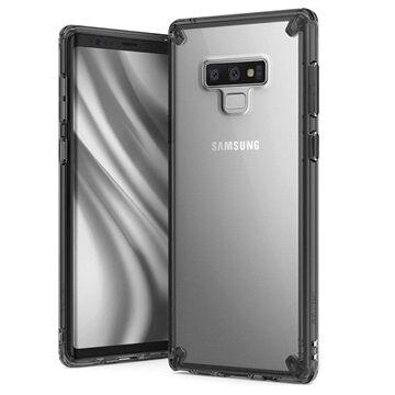 Ringke Fusion Samsung Galaxy Note9 Hybridikotelo - Harmaa / Kirkas