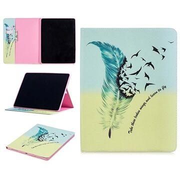 MTP Products Wonder Sarja iPad Pro 12.9 (2018) Folio-kotelo - Höyhenet