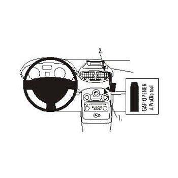 Brodit 853799 ProClip Renault Clio Tourer 08-12