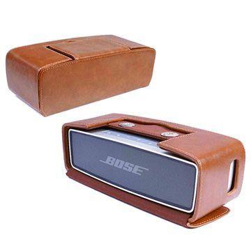 Tuff-Luv Bose Soundlink Mini, Mini II Vintage NFC Kotelo - Ruskea