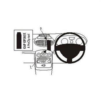 Brodit 653796 ProClip Renault Clio III 06-12