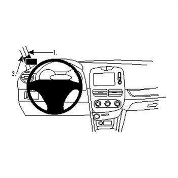 Brodit 804860 ProClip Renault Clio IV 13-16