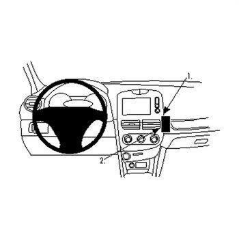 Brodit 854859 ProClip Renault Clio IV 13-16