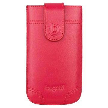 Bugatti SlimCase Dublin Universal Leather Pouch - XL - Red