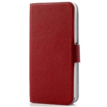 MTP Products iPhone 5C Doormoon Wallet Nahkakotelo - Punainen