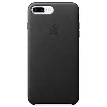 Apple iPhone 7 Plus / iPhone 8 Plus Nahkakuori MQHM2ZM/A - Musta
