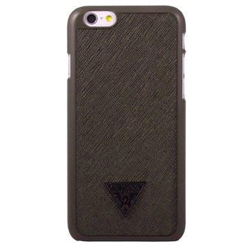Guess iPhone 6 / 6S Brad Collection Kova Suojakuori - Ruskea