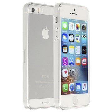 Krusell iPhone 5/5S/SE Kivik Kotelo - Läpinäkyvä