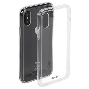 Krusell Kivik iPhone XS Max Hybridikotelo - Läpinäkyvä