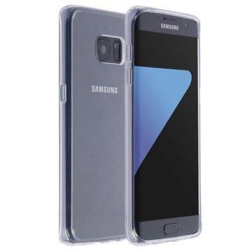 Krusell Samsung Galaxy S7 Edge Kivik Kotelo - Läpinäkyvä