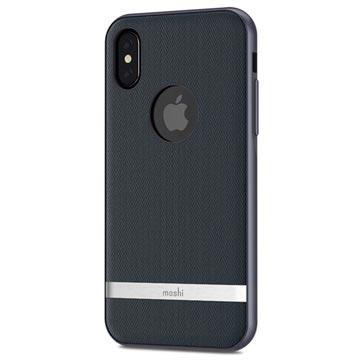 Moshi iPhone X Vesta Kotelo - Bahama Sininen