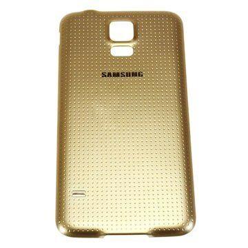 Samsung Galaxy S5 Akun Kansi - Kultainen