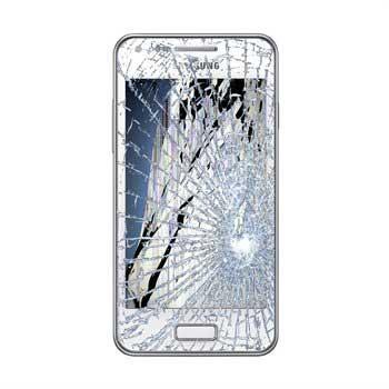 Samsung I9070 Galaxy S Advance LCD-näytön ja Kosketusnäytön Korjaus - Valkoinen