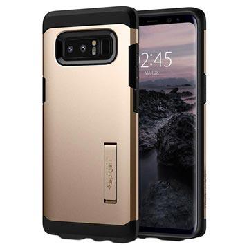 Spigen Samsung Galaxy Note8 Tough Armor Case - Gold