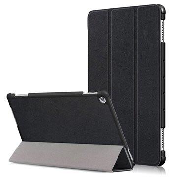 MTP Products Huawei Mediapad M5 lite Tri-Fold Folio-kotelo - Musta