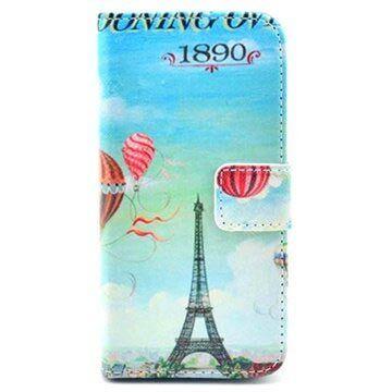 MTP Products iPhone 5 / 5S / SE Lompakkomallinen Nahkakotelo - Paris
