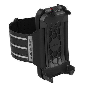Belkin iPhone 5 / 5S / SE Lifeproof Käsivarsikotelo - Musta
