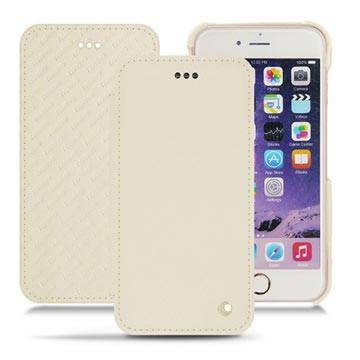 Noreve iPhone X Tradition D Folio Leather Case - Valkoinen