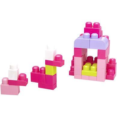 Mega Bloks MATTEL  First Builders rakennuspalikat, 60 kpl, pinkki, DCH54