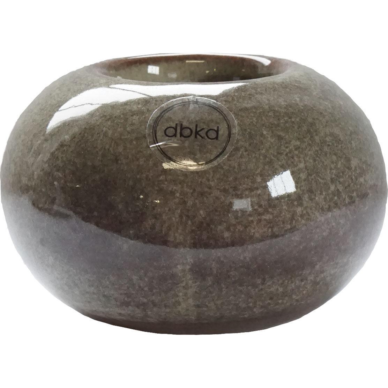 DBKD Sedum Candle Holder Small, Multi