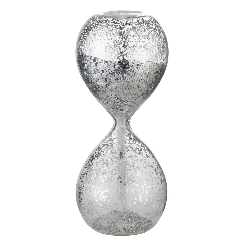 Lene Bjerre Glisia Tiimalasi H12,5cm, Kirkas/Hopea