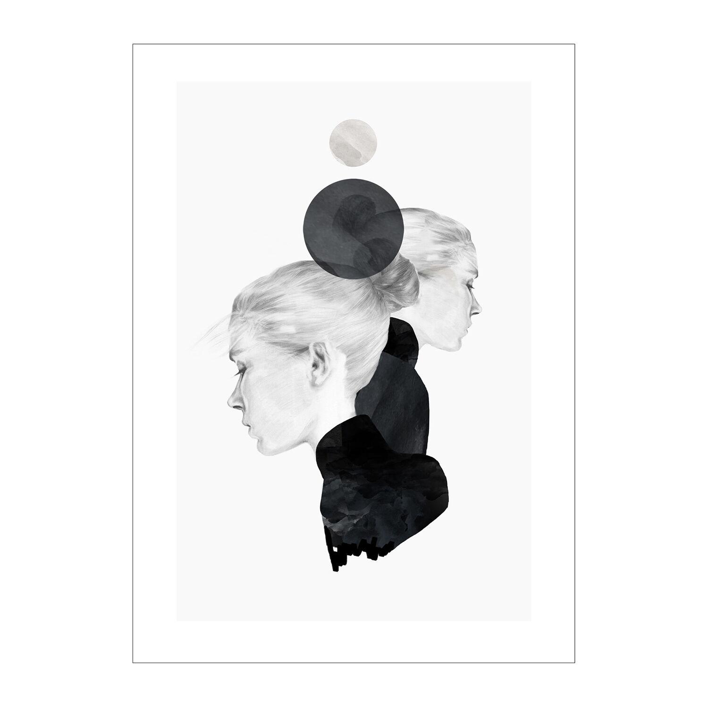 Anna Bülow Black Marble Juliste 50x70cm