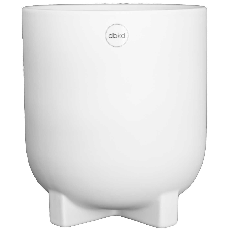 DBKD Plus Flowerpot Large, White