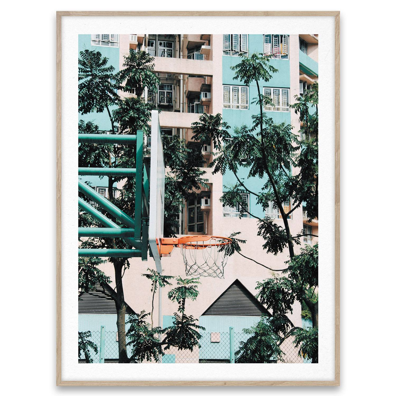 Paper Collective Cities Of Basketball 01 Hong Kong Juliste 30x40 cm