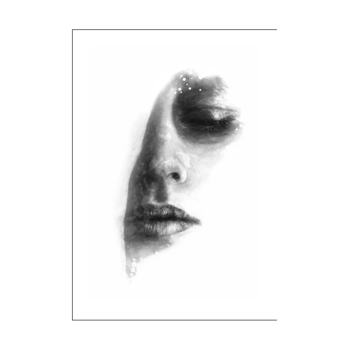 Anna Bülow Face 3 Juliste 30x40cm