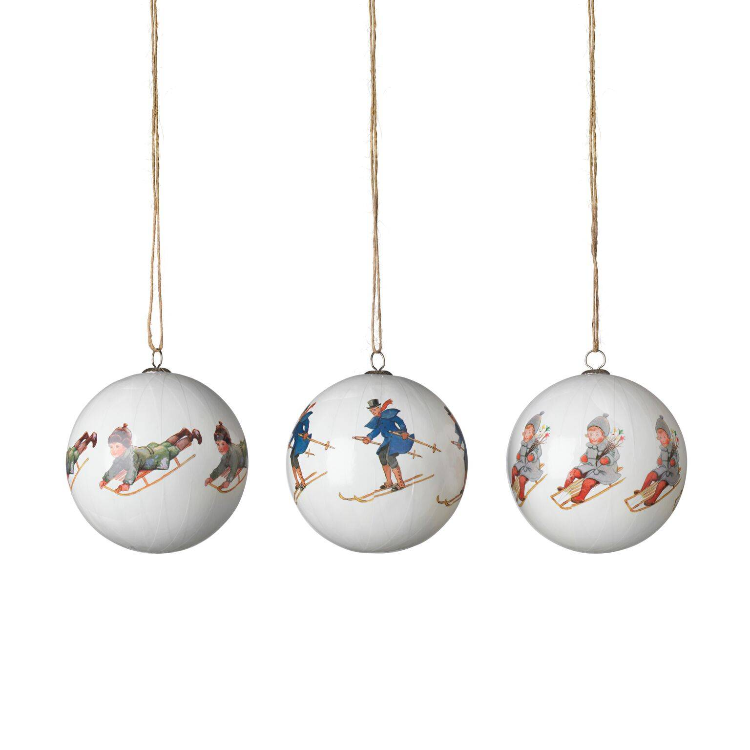 Design House Elsa Beskow Christmas Tree Ornaments, Uncle Blue & Co