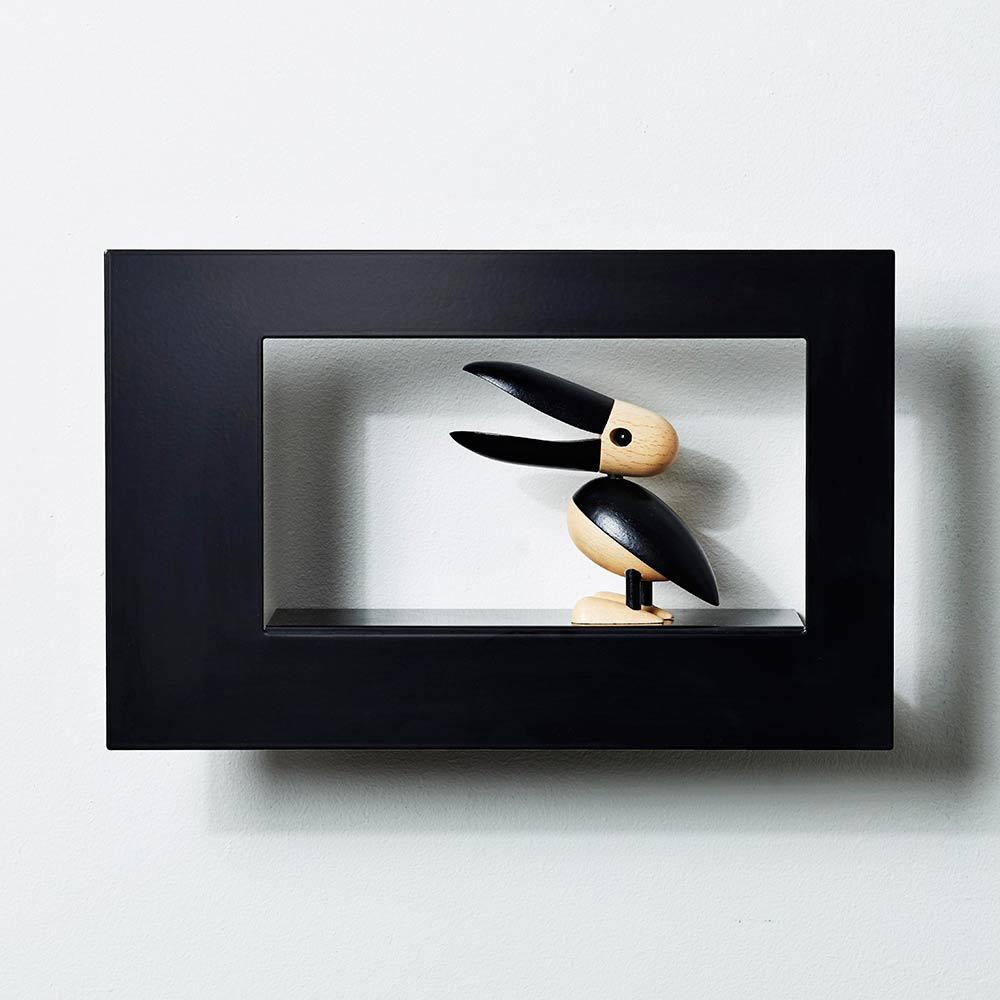Scandinavian Design Factory Frame Wide Taulunkehys 21x34cm, Musta