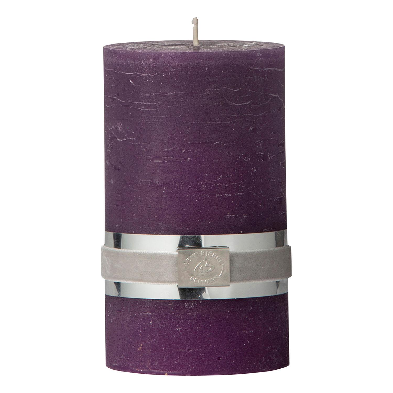 Lene Bjerre Rustic Pöytäkynttilä H12,5cm, Violetti