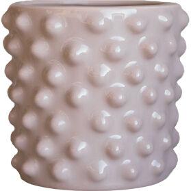DBKD Cloudy Flower Pot Mini, Dusty Pink