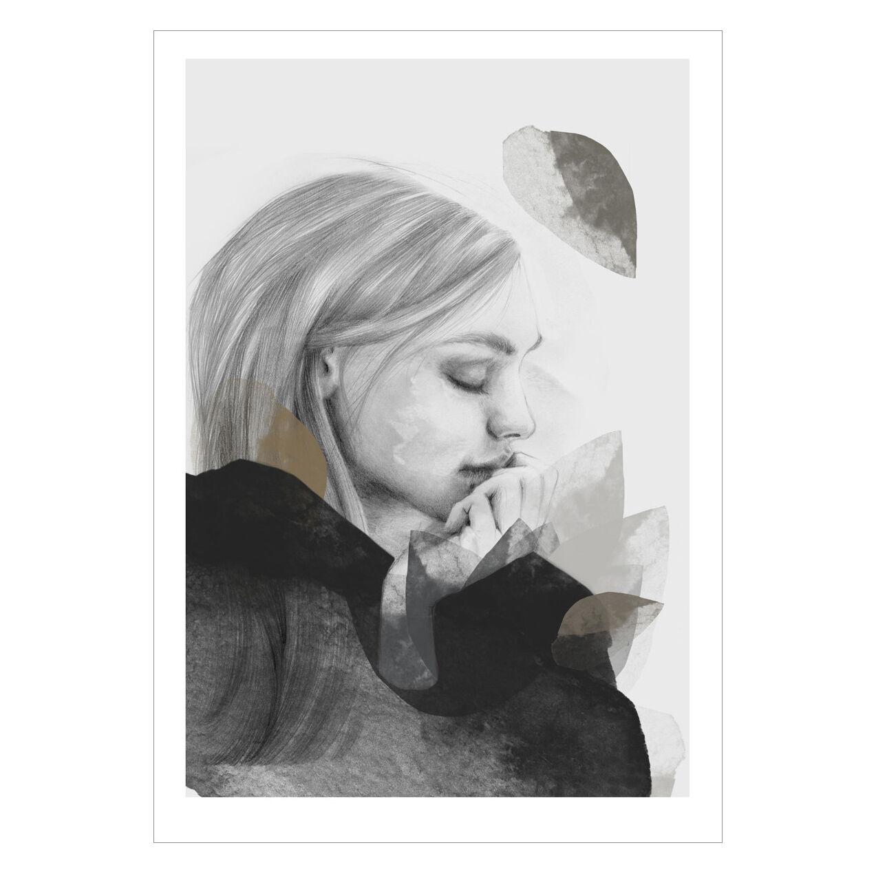 Anna Bülow Dreamer In Black Juliste 70x100cm