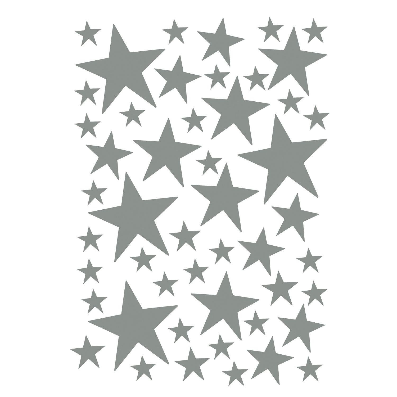 Ferm Living KIDS Mini Stars Wallsticker, Grey