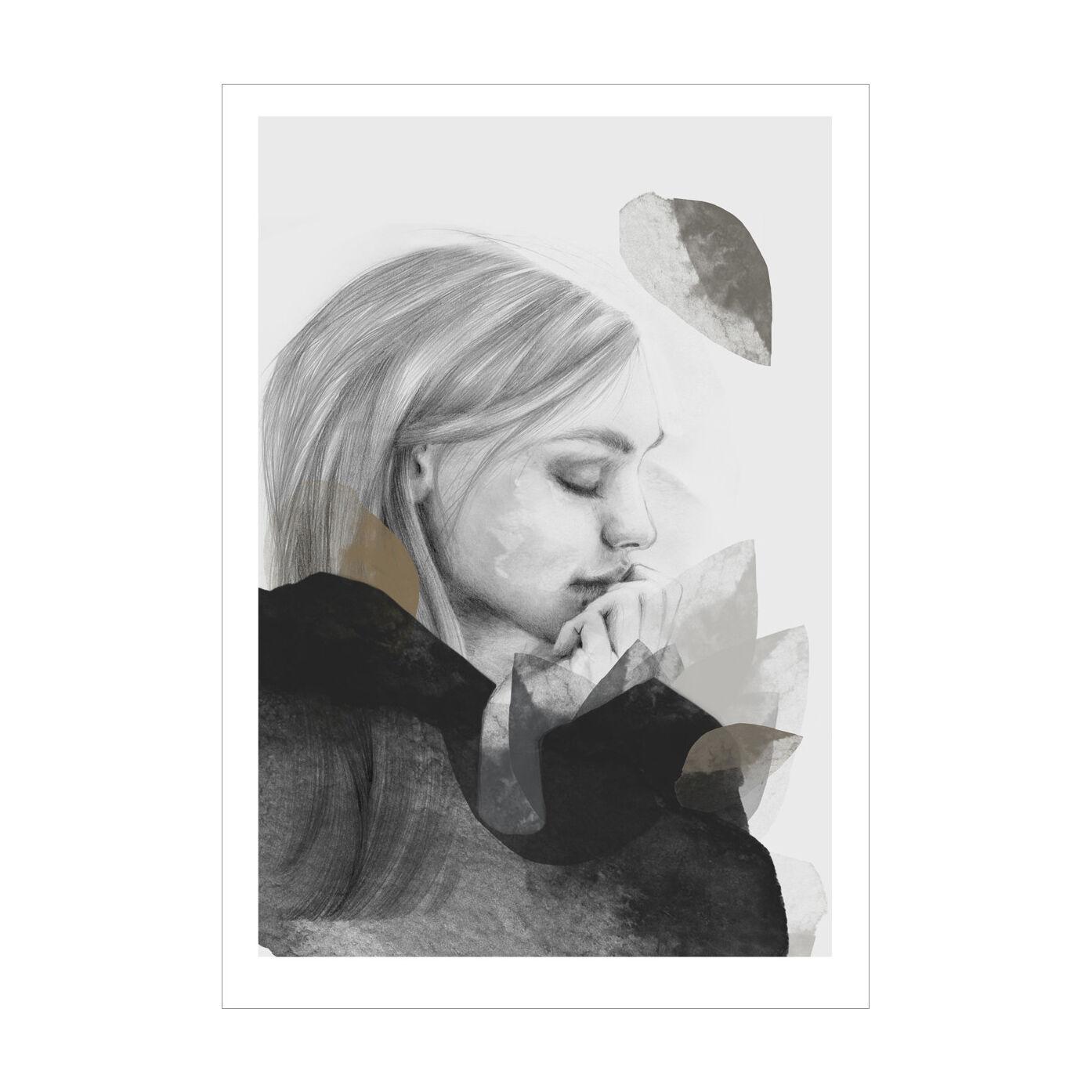 Anna Bülow Dreamer In Black Juliste 30x40cm