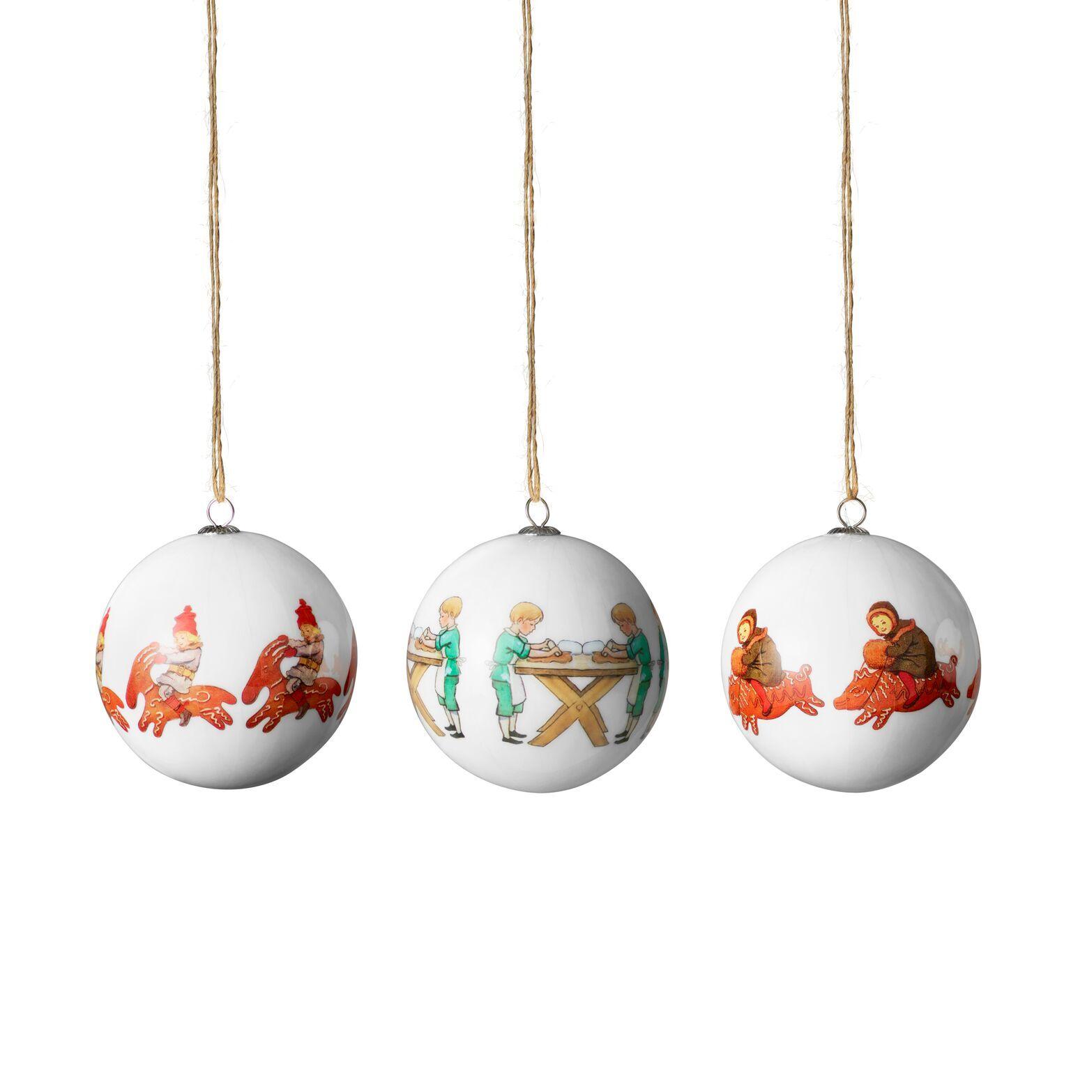 Design House Elsa Beskow Christmas Tree Ornaments, Peter & Lottas Christmas