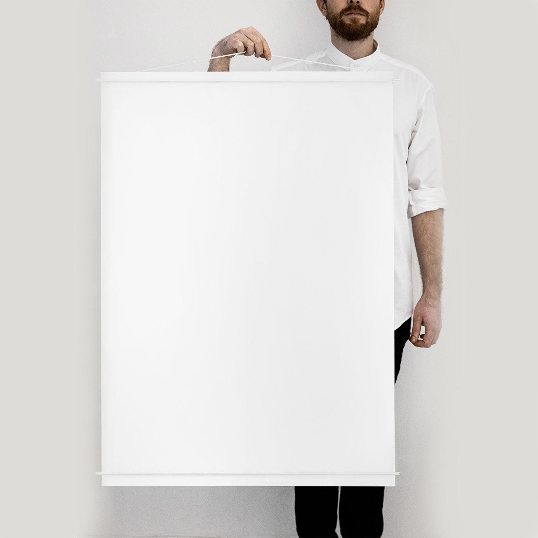Moebe Julisteripustin 70x100, Valkoinen