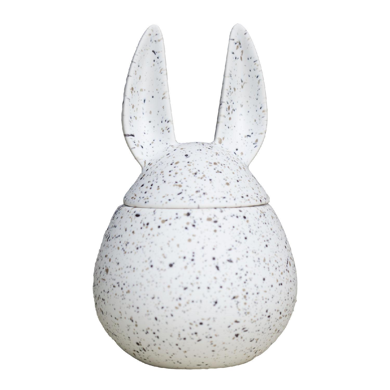 DBKD Eating Rabbit Easter Egg Small, Dot